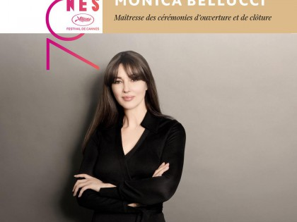 Cannes: Monica Bellucci Ceremonies