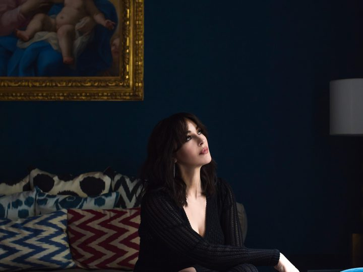 At Home With Monica Bellucci